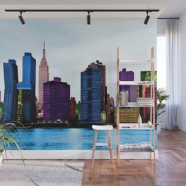 Midtown Manhattan New York City Skyline Portrait - Jéanpaul Ferro Wall Mural