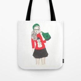 Christmas Fashion Tote Bag