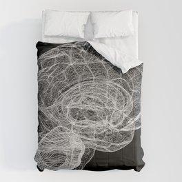 DELAUNAY BRAIN b/w Comforters