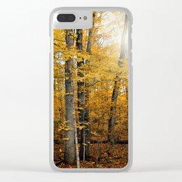Fall Feels Clear iPhone Case