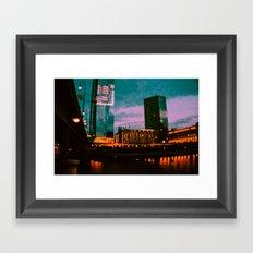city of love. Framed Art Print