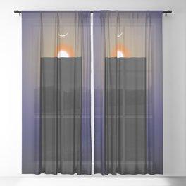 The Monolith Sheer Curtain