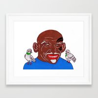 mike tyson Framed Art Prints featuring Mike Tyson 2 by Kot Bonkers