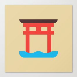 Japan Torii Canvas Print