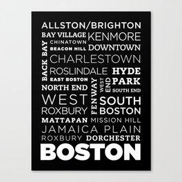 City of Neighborhoods - I Canvas Print