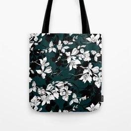 Flowers Pattern Tote Bag