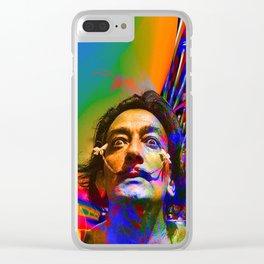 Dream of Salvador Dali Clear iPhone Case