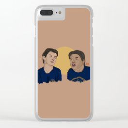 Midtown School of Science & Technology Boys Clear iPhone Case