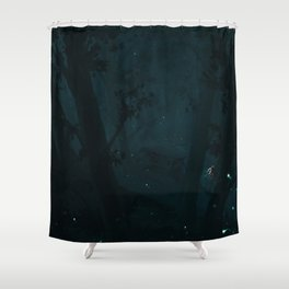Gone for a ride BRB - 04 Shower Curtain