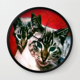 MEOW MIX Wall Clock
