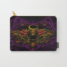 Mythical Neon Purple Wolf Carry-All Pouch