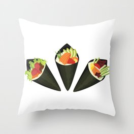 Temaki Throw Pillow