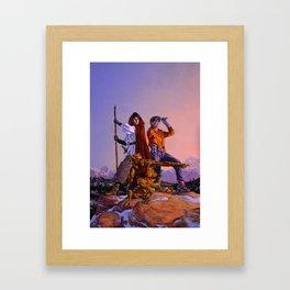 The Guide Framed Art Print