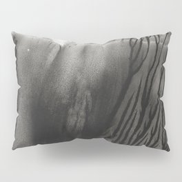 Blackwater Park - abstract watercolor monotype Pillow Sham