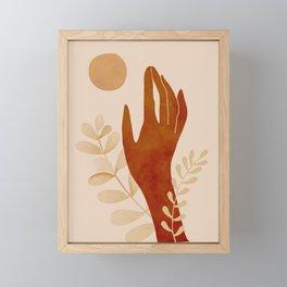 Hand Framed Mini Art Print