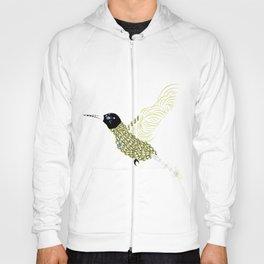 Abstract Hummingbird Hoody