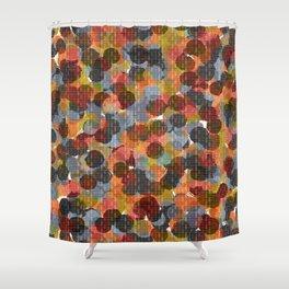 Drop Circles Shower Curtain