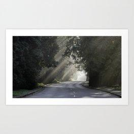 Road of dreams Art Print