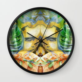 Dada's Life Within Wall Clock