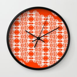 Eleffants forever 3 Wall Clock