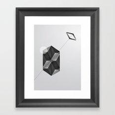 Space two Framed Art Print