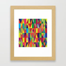 Geometric No. 10 Framed Art Print