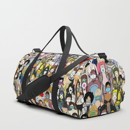 Face Mask Party Duffle Bag