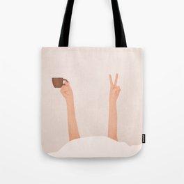 Good Peaceful Morning Tote Bag