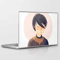 arya Laptop & iPad Skins featuring There Is Only One Thing We Say To Death by Nan Lawson