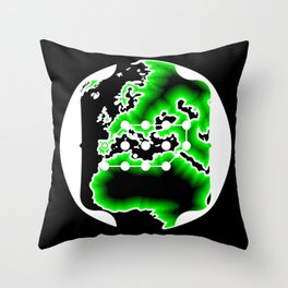 Plano Marenostrum Throw Pillow