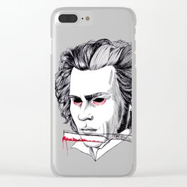 Sweeney Todd Clear iPhone Case