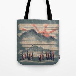 Mountain Goat Drifter... Tote Bag