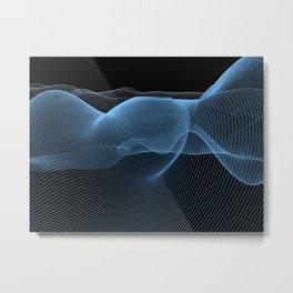 Luminous lines Metal Print