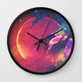 Veil Upon Veil Wall Clock