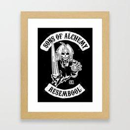 Sons of Alchemy Framed Art Print