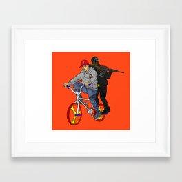 WSG x Conway The Machine Framed Art Print