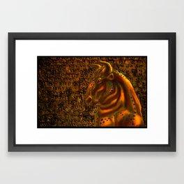 Holy Monster Framed Art Print