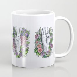 LOVE- ASL alphabet art Coffee Mug