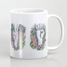 LOVE- ASL alphabet art Coffee Mug