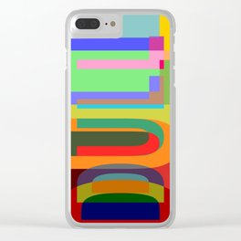 DULL 02a Clear iPhone Case