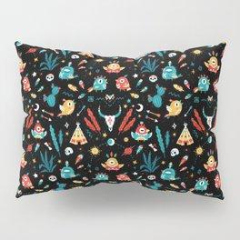 Strange Bird Pattern Pillow Sham