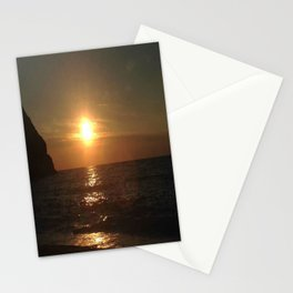 A Romantic Night at the Beach Stationery Cards