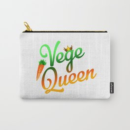 Vege Queen Carry-All Pouch