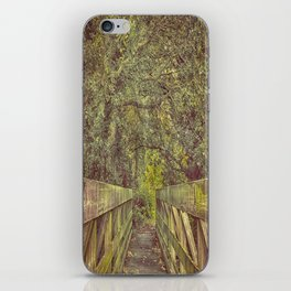 Over and On We Walk iPhone Skin