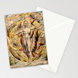 MOSES - WILLIAM BLAKE Stationery Cards