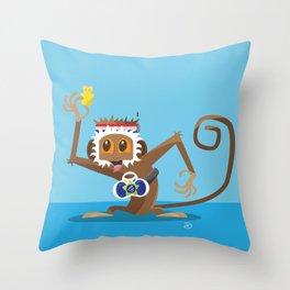 Gummy Bear! Throw Pillow