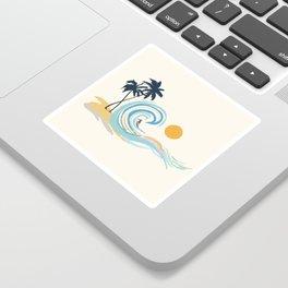 Minimalistic Summer II Sticker