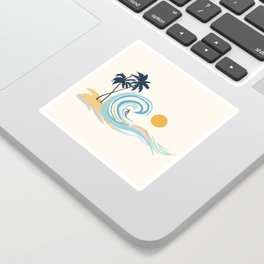 Minimalistic Summer II Sticker