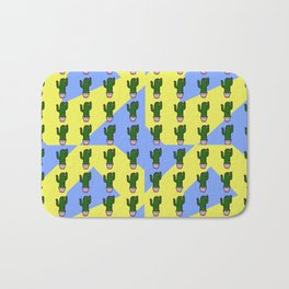 Cactus Pattern 2 Bath Mat