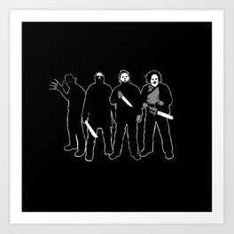 The Slashers! Art Print